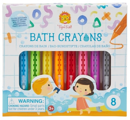 Tiger Tribe Bath Crayons by Tiger Tribe 3+