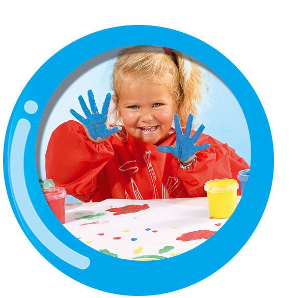 SES Creative My First Finger Paint (primary colors) 1+
