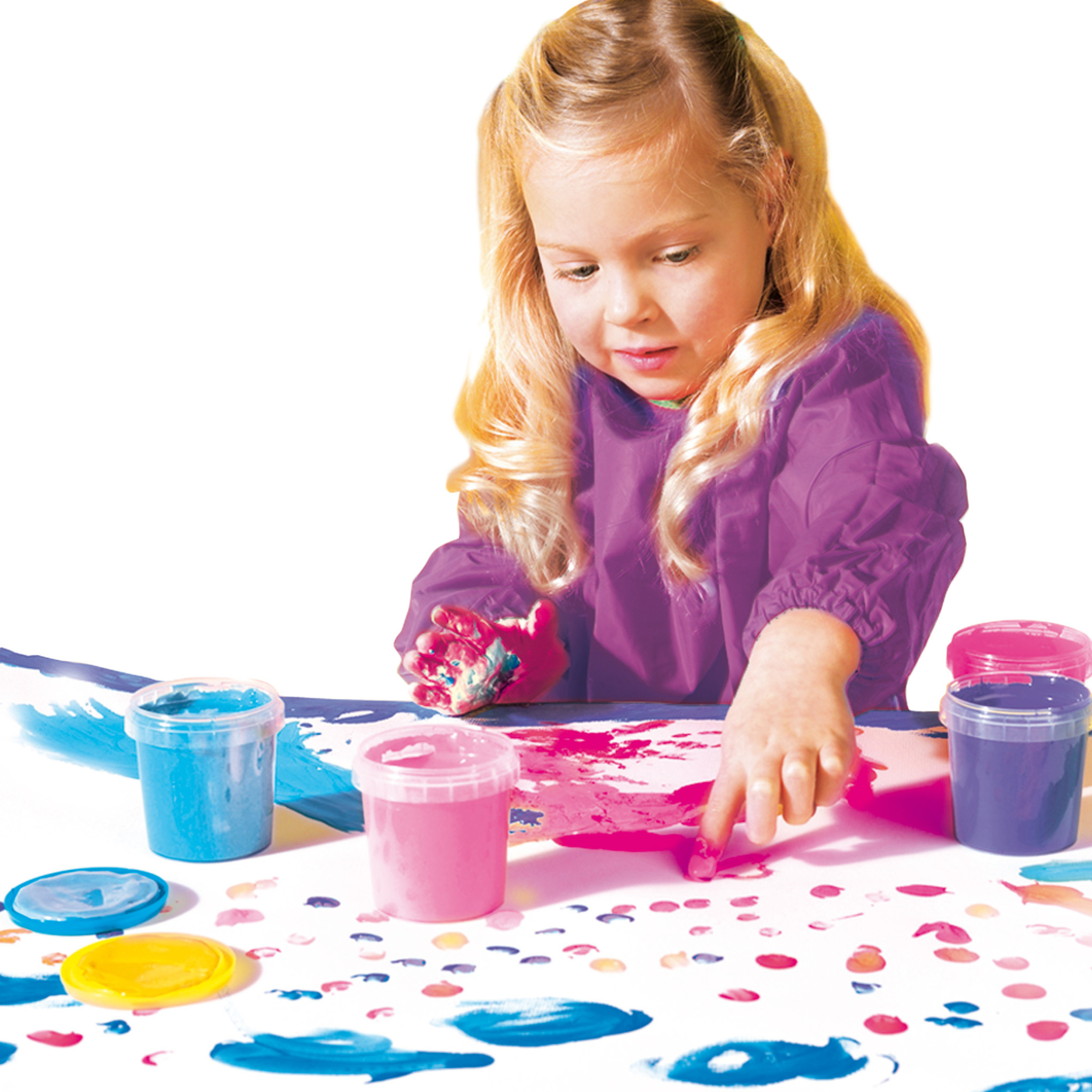 SES Creative My First Finger Paint (pinks & purples) 1+