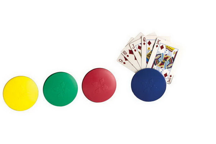 Anomia 4-pc Round Card Holder set