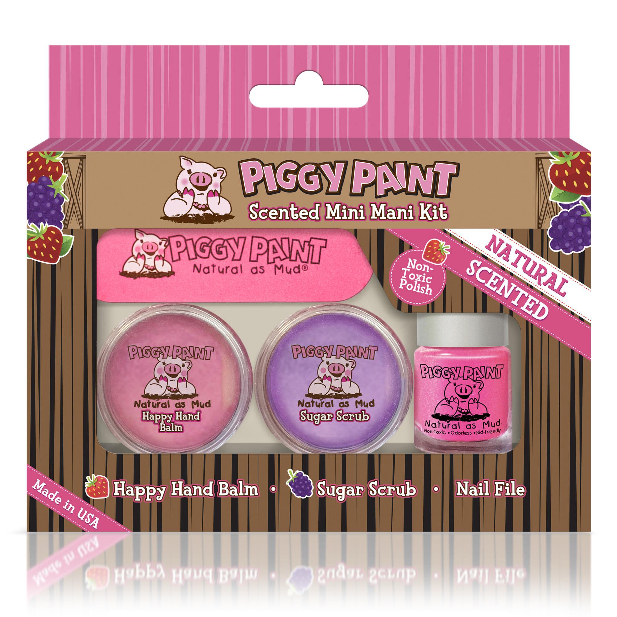 Piggy Paint Piggy Paint Sented Mini Mani Kit