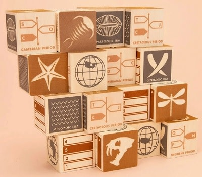 Uncle Goose Fossil Blocks 2+