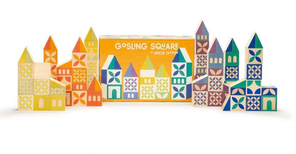 Uncle Goose Gosling Square Building Blocks 3+