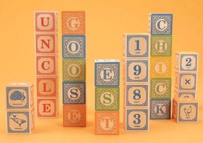 Uncle Goose Classic ABC Blocks 2+