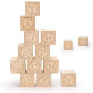 Uncle Goose Alphablank Blocks 2+