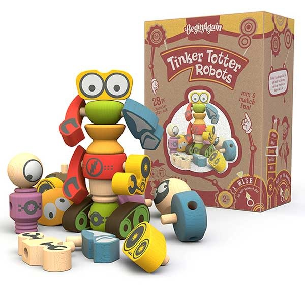 Begin Again Tinker Totter Robots 3+