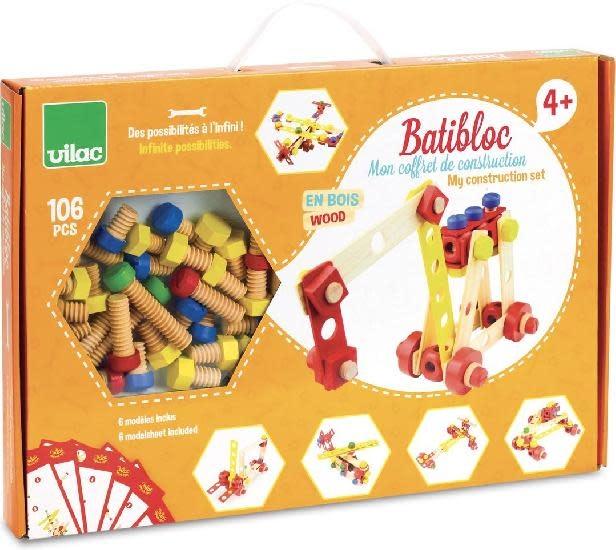 vilac Batibloc Construction set (106 pcs) 4+
