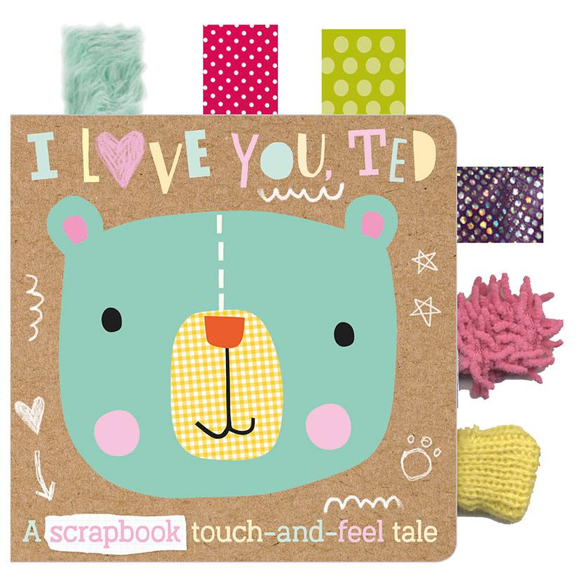 Make Believe Ideas Ltd. I Love You, Ted 0+