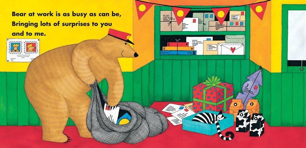 Barefoot Books Bear At Work by Stella Blackstone (2+)