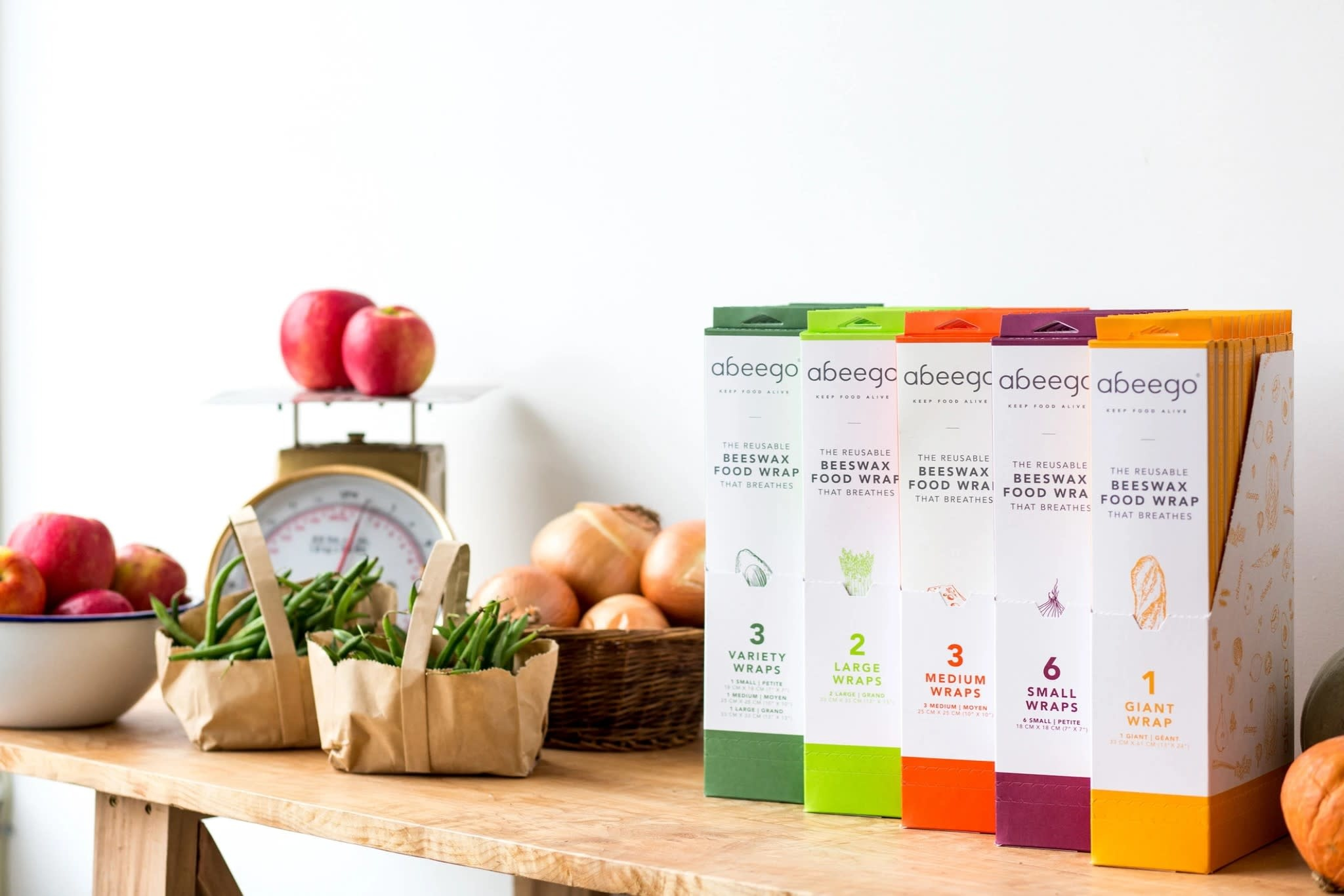 Abeego Abeego Reusable Beeswax Food Wraps