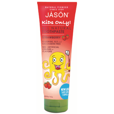 Jason's Jason's All Natural Toothpaste - Strawberry (119g)