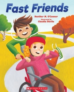 Fast Friends by Heather M. O'Connor (ages 3-7)