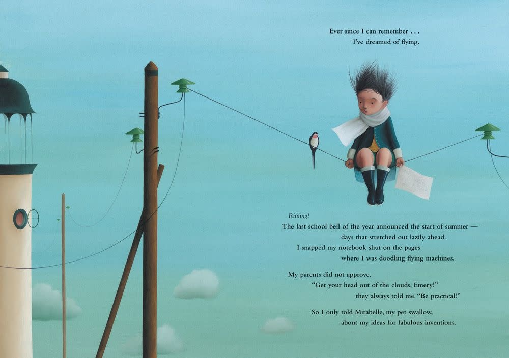Barefoot Books Cloud Chaser by Anne-Fleur Drillon (ages 5-10)
