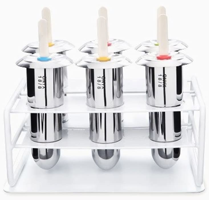 Onyx Onyx  Stainless Steel Popsicle Molds