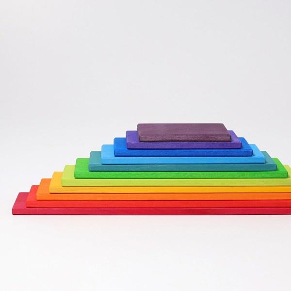 Grimm's Building Boards (rainbow) 1+