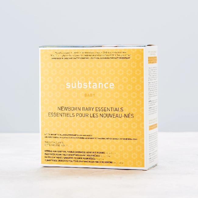Substance Substance Newborn Baby Essentials Gift Set