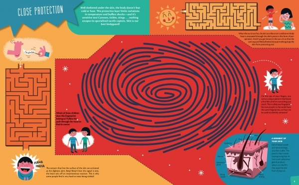 Interactive Mazes for Exploring The Human Body (8+)