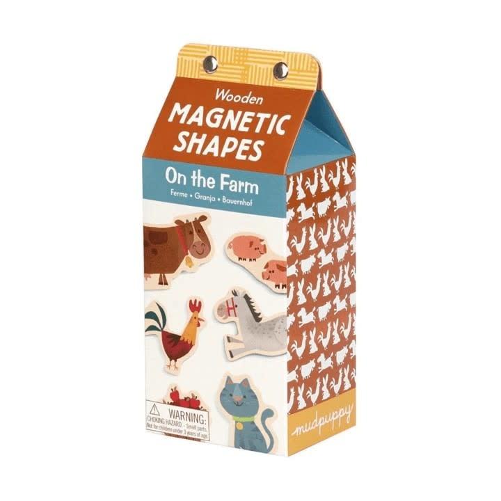 Mudpuppy Mudpuppy Wooden Magnet Sets