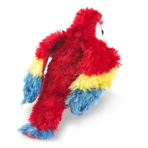 Folkmanis Mini Scarlett Macaw