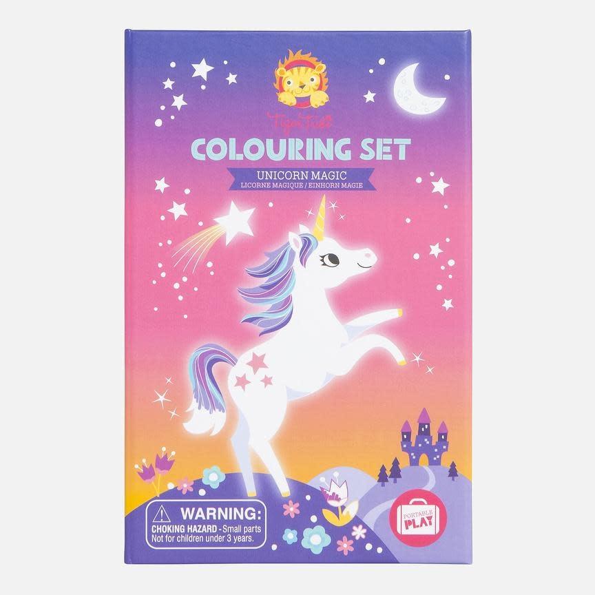 Tiger Tribe Tiger Tribe Colouring Set - Unicorn Magic