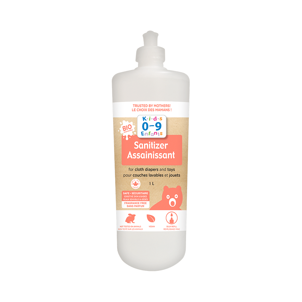 Homeocan Sanitizer for Cloth Diapers & Toys