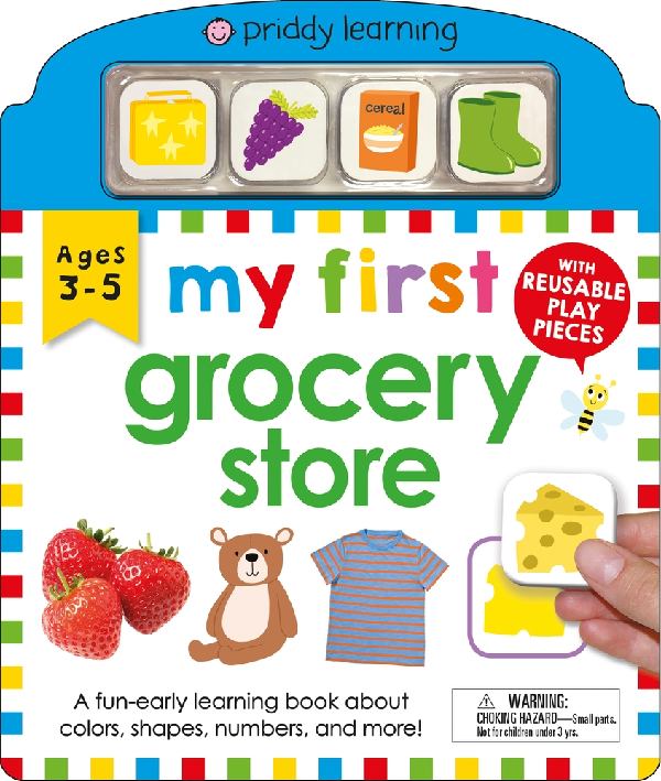Priddy Books My First Grocery Store (ages 3-5)