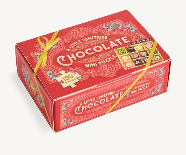 Chronicle Books A Little Something Chocolate mini puzzle (150 pieces)