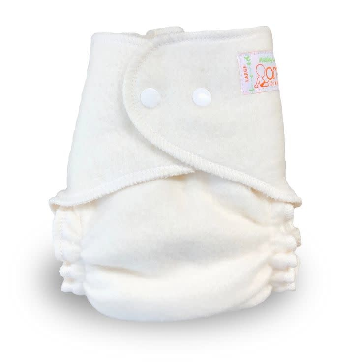 AMP Diapers AMP Hemp Fitted Cloth Diapers