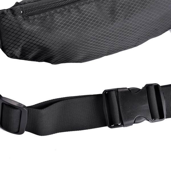 L & P Adjustable belt bag (Fanny bag) - Black