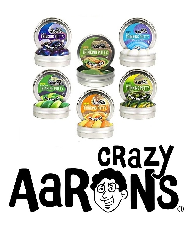 Crazy Aaron's Mini Crazy Aaron's Thinking Putty (.47oz)