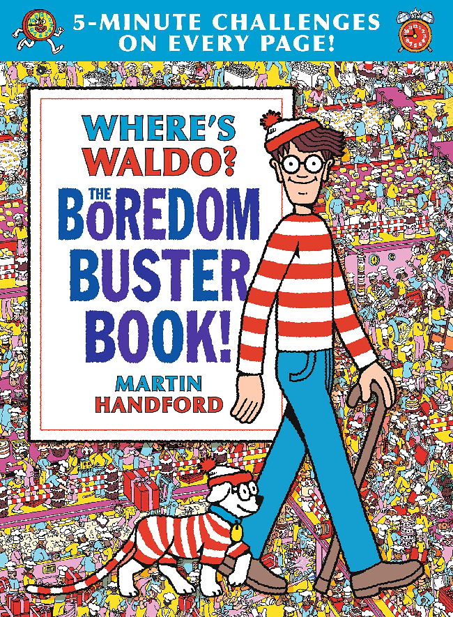 Where's Waldo? The Boredom Buster Book! by Martin Handford (ages 5-9)