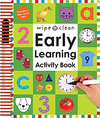 Priddy Books Early Learning Activity Book (4+)