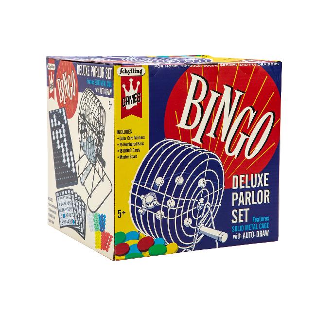 Schylling Bingo Deluxe Parlor Set (5+)