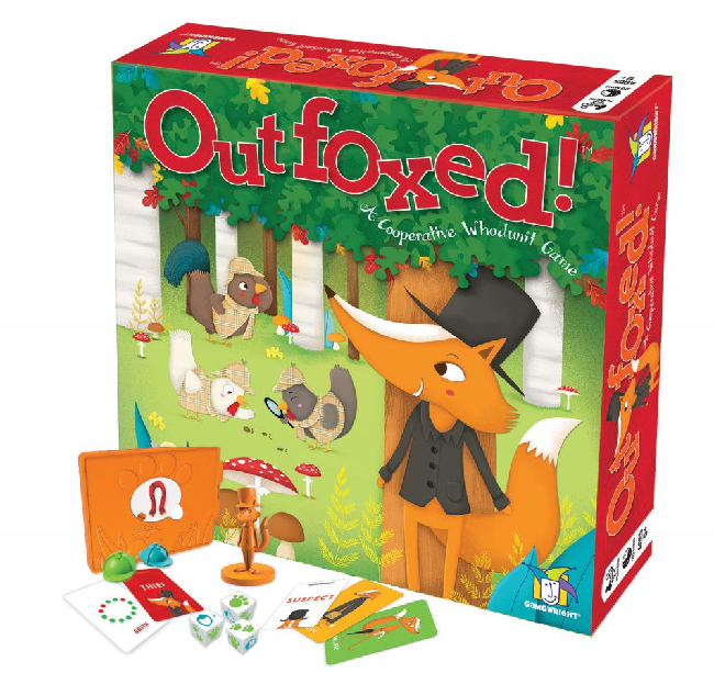 Gamewright Outfoxed! (5+)