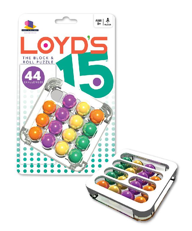 Brainwright Loyd's 15: The Block & Roll Puzzle (8+)