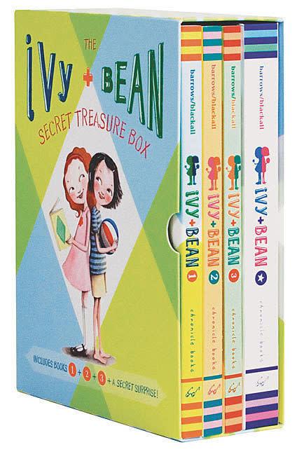 Chronicle Ivy & Bean books 1 through 3 (ages 6-10)