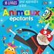 Apprendre avec Scholastic : Boîte à lecture : Animaux épatants (4 à 6 ans)