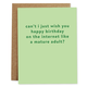 Rhubarb Paper Co. Can't I just wish you a happy birthday...