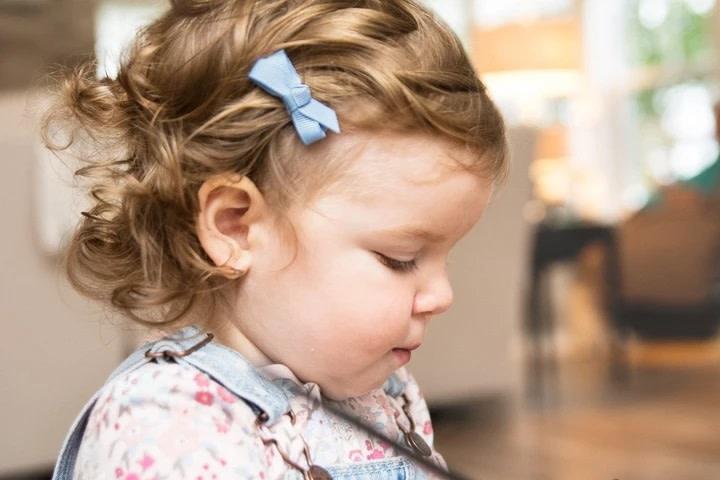 Baby Wisp Baby Wisp Chelsea Bow Clips (5-pack)