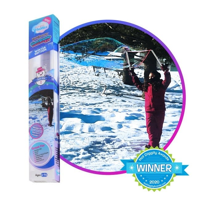 South Beach Bubbles Giant Bubble Concentrate Kit - Winter edition (6+)