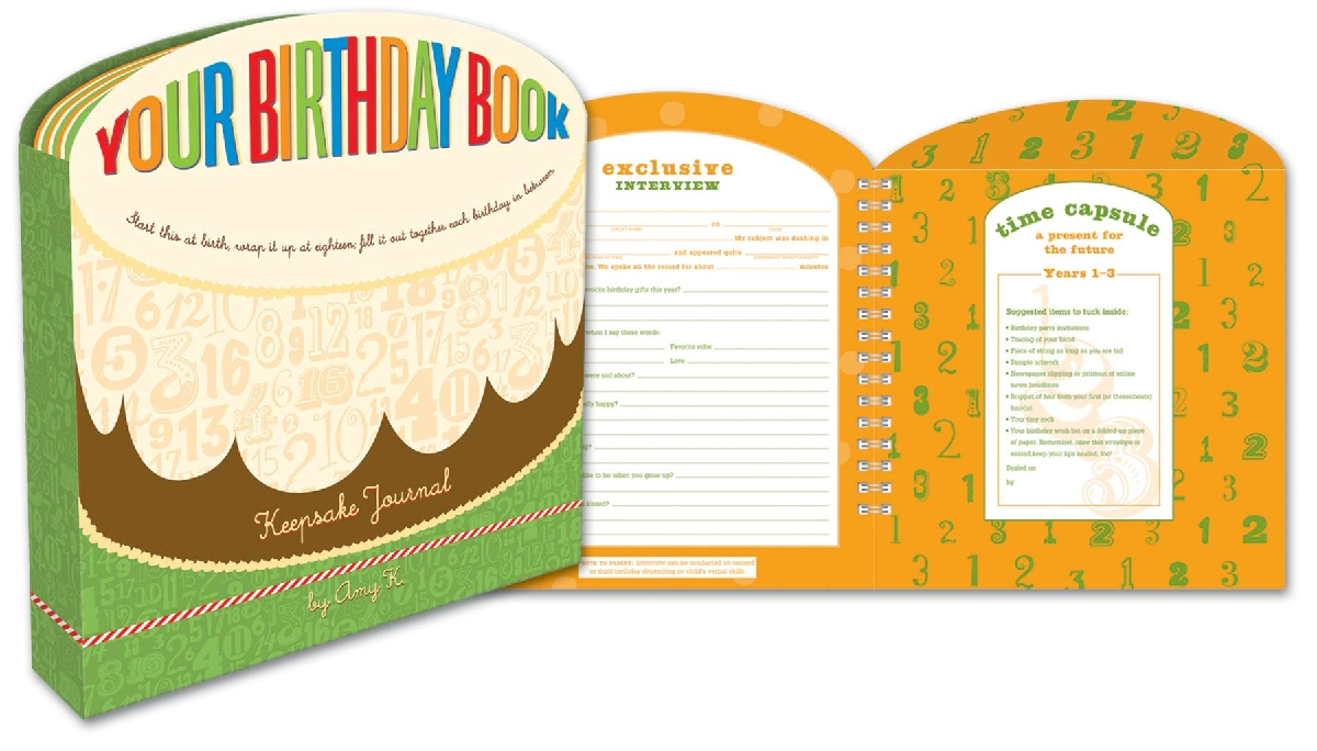 Your Birthday Book by Amy Krouse (1+)