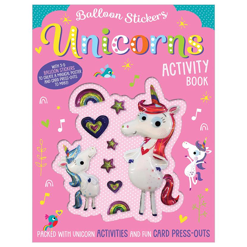 Make Believe Ideas Ltd. Balloon Stickers Activity Book (3+)