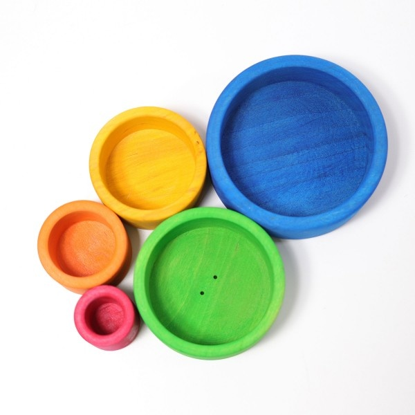 Grimm's Small Stacking Bowls (1+)