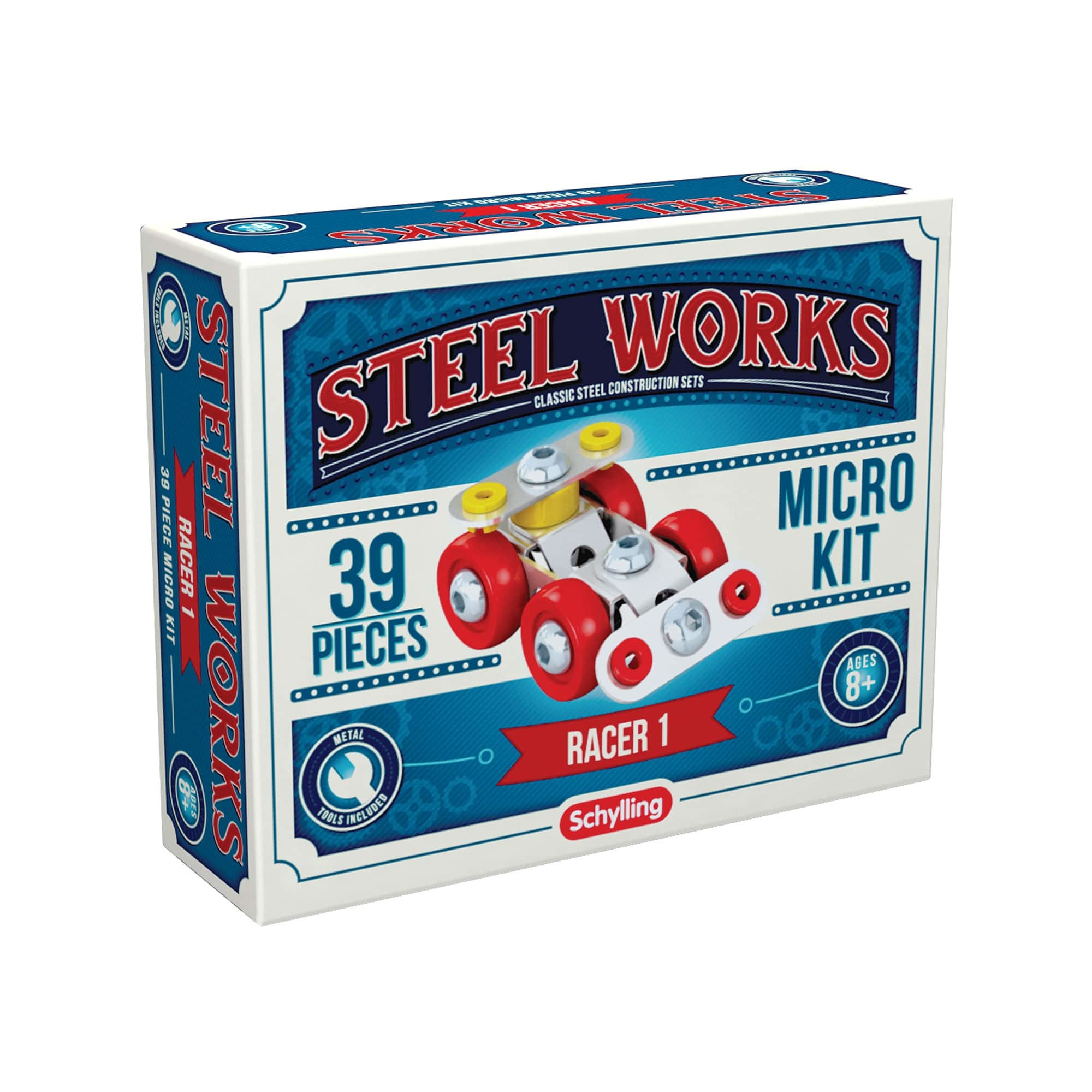 Schylling Steel Works Micro Kit (8+)