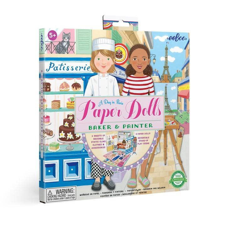 Paper Dolls A Day in Paris (5+)