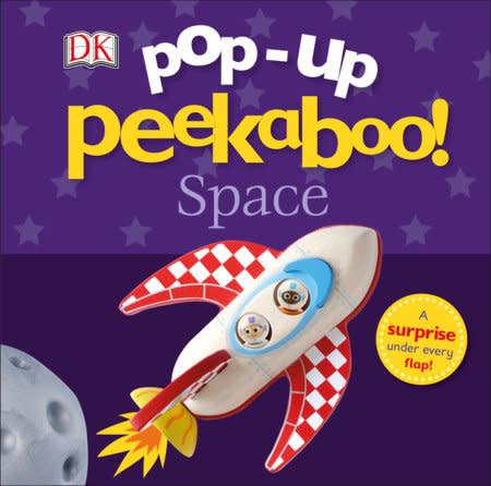 Pop-up Peekaboo! Space  (1+)