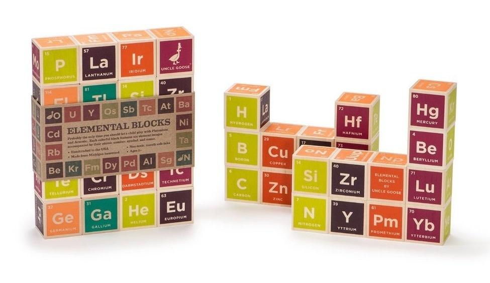 Uncle Goose Elemental Blocks (20 pcs)