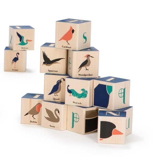 Uncle Goose Bird Blocks (14 pcs) 2+