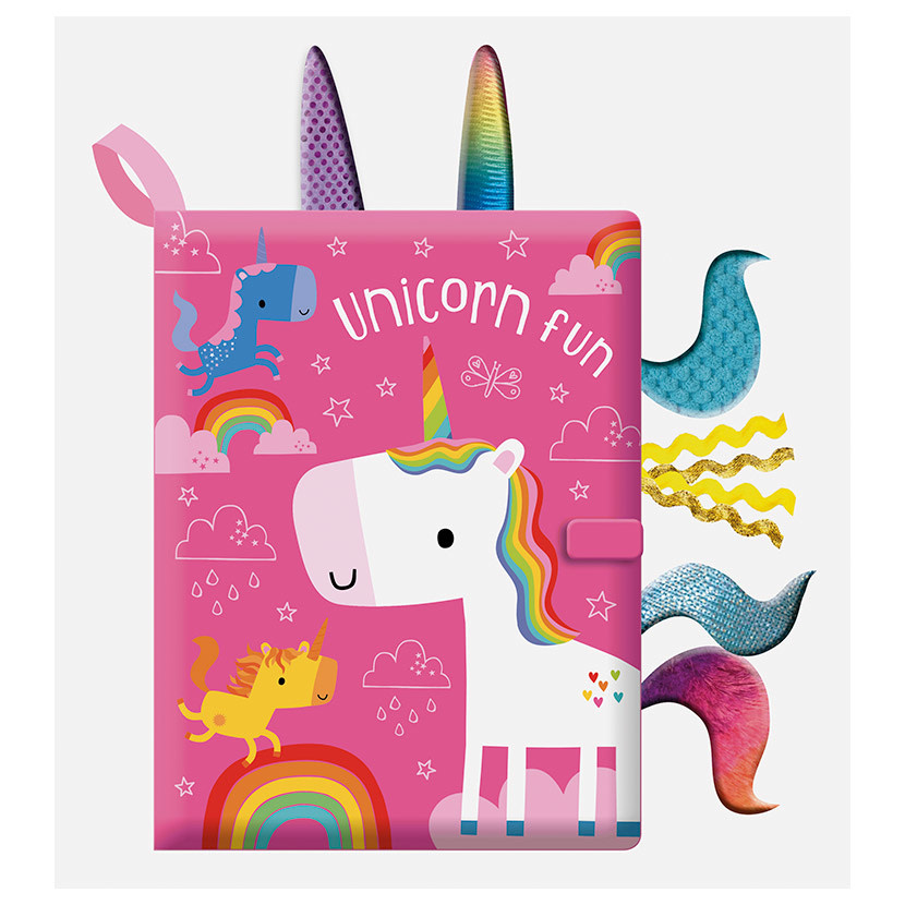 Unicorn fun: A Touch & Feel Cloth Book (0m+)