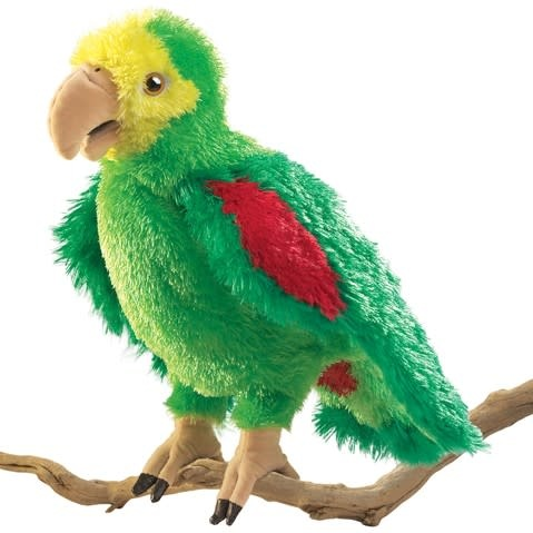 Folkmanis Amazon Parrot